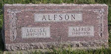 ALFSON, LOUISE - Cuming County, Nebraska   LOUISE ALFSON - Nebraska Gravestone Photos