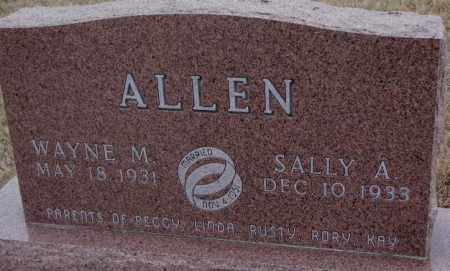ALLEN, WAYNE M. - Cuming County, Nebraska | WAYNE M. ALLEN - Nebraska Gravestone Photos