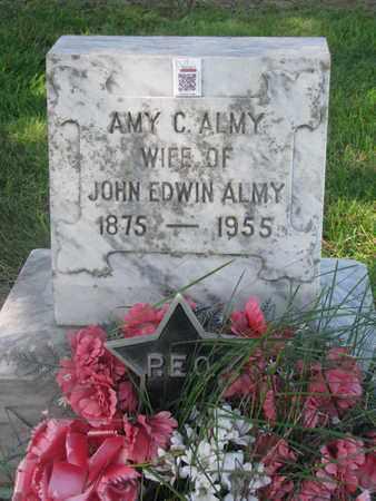 ALMY, AMY C. - Cuming County, Nebraska | AMY C. ALMY - Nebraska Gravestone Photos