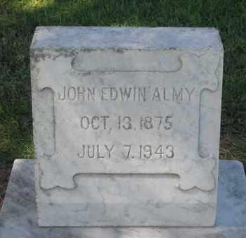 ALMY, JOHN EDWIN - Cuming County, Nebraska | JOHN EDWIN ALMY - Nebraska Gravestone Photos