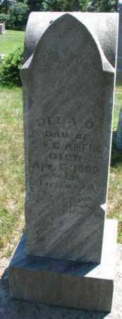 ANFIN, DELA O. - Cuming County, Nebraska | DELA O. ANFIN - Nebraska Gravestone Photos