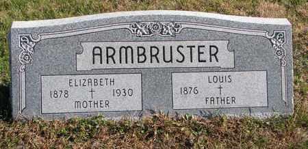 ARMBRUSTER, ELIZABETH - Cuming County, Nebraska | ELIZABETH ARMBRUSTER - Nebraska Gravestone Photos