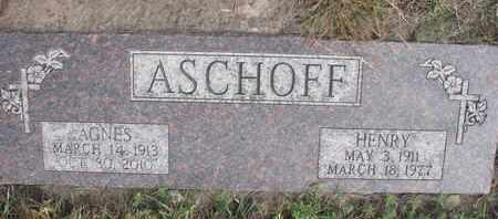 ASCHOFF, HENRY - Cuming County, Nebraska | HENRY ASCHOFF - Nebraska Gravestone Photos
