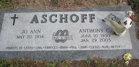 ASCHOFF, ANTHONY C. - Cuming County, Nebraska   ANTHONY C. ASCHOFF - Nebraska Gravestone Photos