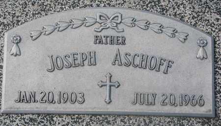 ASCHOFF, JOSEPH - Cuming County, Nebraska   JOSEPH ASCHOFF - Nebraska Gravestone Photos