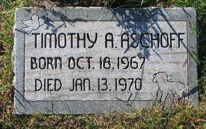 ASCHOFF, TIMOTHY A. - Cuming County, Nebraska | TIMOTHY A. ASCHOFF - Nebraska Gravestone Photos