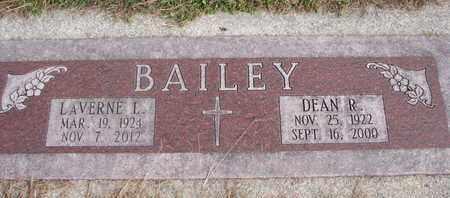 BAILEY, LAVERNE L. - Cuming County, Nebraska | LAVERNE L. BAILEY - Nebraska Gravestone Photos