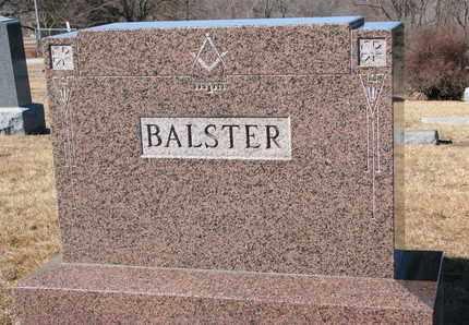 BALSTER, (FAMILY MONUMENT) - Cuming County, Nebraska | (FAMILY MONUMENT) BALSTER - Nebraska Gravestone Photos