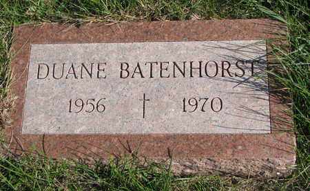 BATENHORST, DUANE - Cuming County, Nebraska   DUANE BATENHORST - Nebraska Gravestone Photos