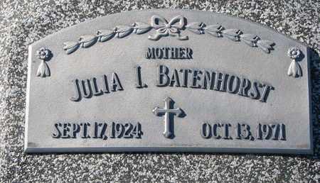 BATENHORST, JULIA I. - Cuming County, Nebraska | JULIA I. BATENHORST - Nebraska Gravestone Photos