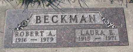 BECKMAN, LAURA E. - Cuming County, Nebraska | LAURA E. BECKMAN - Nebraska Gravestone Photos