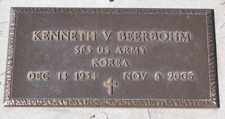 BEERBOHM, KENNETH V. - Cuming County, Nebraska   KENNETH V. BEERBOHM - Nebraska Gravestone Photos