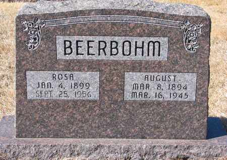 BEERBOHM, ROSA - Cuming County, Nebraska   ROSA BEERBOHM - Nebraska Gravestone Photos