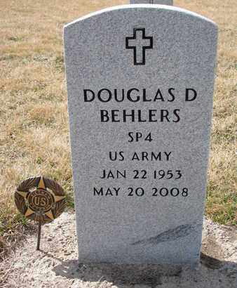 BEHLERS, DOUGLAS D. - Cuming County, Nebraska | DOUGLAS D. BEHLERS - Nebraska Gravestone Photos