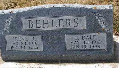 BEHLERS, C. DALE - Cuming County, Nebraska | C. DALE BEHLERS - Nebraska Gravestone Photos