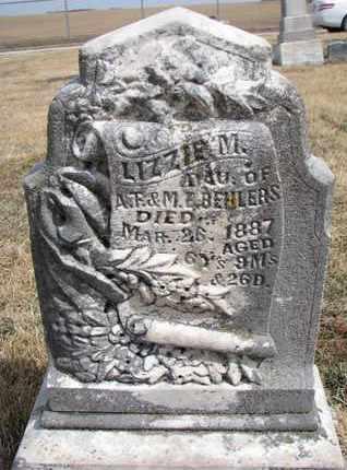 BEHLERS, LIZZIE M. - Cuming County, Nebraska | LIZZIE M. BEHLERS - Nebraska Gravestone Photos
