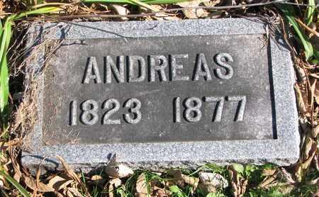 BERTHOLD, ANDREAS - Cuming County, Nebraska | ANDREAS BERTHOLD - Nebraska Gravestone Photos