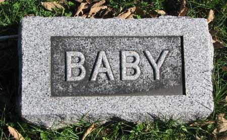 BERTHOLD, BABY - Cuming County, Nebraska | BABY BERTHOLD - Nebraska Gravestone Photos