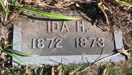 BERTHOLD, IDA H. - Cuming County, Nebraska | IDA H. BERTHOLD - Nebraska Gravestone Photos