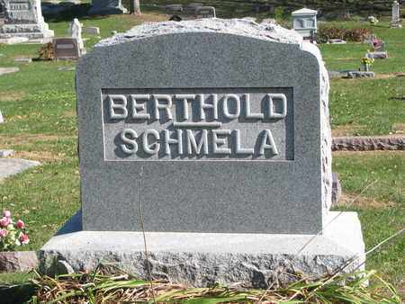 BERTHOLD-SCHMELA, FAMILY STONE - Cuming County, Nebraska | FAMILY STONE BERTHOLD-SCHMELA - Nebraska Gravestone Photos