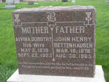 BETTENHAUSEN, ALVINA DOROTHY - Cuming County, Nebraska | ALVINA DOROTHY BETTENHAUSEN - Nebraska Gravestone Photos