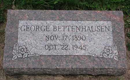 BETTENHAUSEN, GEORGE - Cuming County, Nebraska | GEORGE BETTENHAUSEN - Nebraska Gravestone Photos