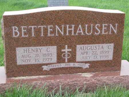 BETTENHAUSEN, AUGUSTA C. - Cuming County, Nebraska | AUGUSTA C. BETTENHAUSEN - Nebraska Gravestone Photos