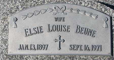 BEUNE, ELSIE LOUISE - Cuming County, Nebraska | ELSIE LOUISE BEUNE - Nebraska Gravestone Photos