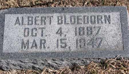 BLOEDORN, ALBERT F.W. - Cuming County, Nebraska | ALBERT F.W. BLOEDORN - Nebraska Gravestone Photos