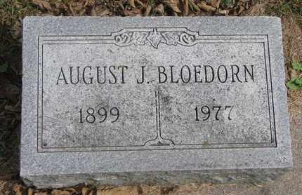 BLOEDORN, AUGUST J. - Cuming County, Nebraska | AUGUST J. BLOEDORN - Nebraska Gravestone Photos