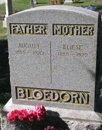 BLOEDORN, AUGUST - Cuming County, Nebraska | AUGUST BLOEDORN - Nebraska Gravestone Photos