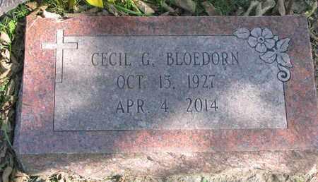 BLOEDORN, CECIL G. - Cuming County, Nebraska | CECIL G. BLOEDORN - Nebraska Gravestone Photos
