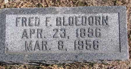 BLOEDORN, FRED F. - Cuming County, Nebraska | FRED F. BLOEDORN - Nebraska Gravestone Photos