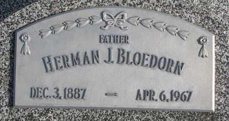 BLOEDORN, HERMAN J. - Cuming County, Nebraska | HERMAN J. BLOEDORN - Nebraska Gravestone Photos
