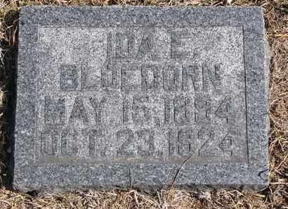 BLOEDORN, IDA E. - Cuming County, Nebraska | IDA E. BLOEDORN - Nebraska Gravestone Photos