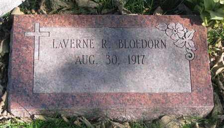 BLOEDORN, LAVERNE R. - Cuming County, Nebraska | LAVERNE R. BLOEDORN - Nebraska Gravestone Photos