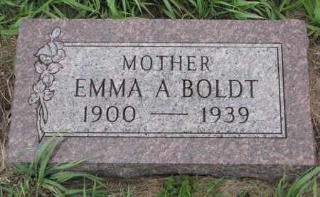 BOLDT, EMMA A. - Cuming County, Nebraska | EMMA A. BOLDT - Nebraska Gravestone Photos
