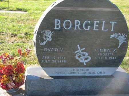 HORST BORGELT, CHERYL K. - Cuming County, Nebraska | CHERYL K. HORST BORGELT - Nebraska Gravestone Photos