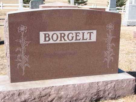 BORGELT, (FAMILY MONUMENT) - Cuming County, Nebraska   (FAMILY MONUMENT) BORGELT - Nebraska Gravestone Photos