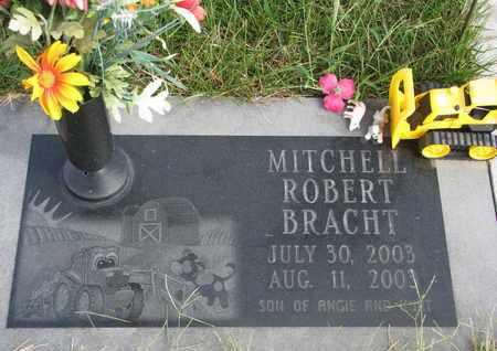 BRACHT, MITCHELL ROBERT - Cuming County, Nebraska | MITCHELL ROBERT BRACHT - Nebraska Gravestone Photos