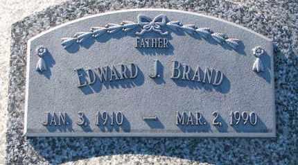 BRAND, EDWARD - Cuming County, Nebraska | EDWARD BRAND - Nebraska Gravestone Photos