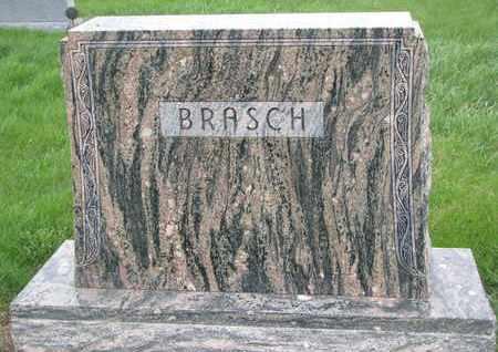 BRASCH, (FAMILY MONUMENT) - Cuming County, Nebraska   (FAMILY MONUMENT) BRASCH - Nebraska Gravestone Photos
