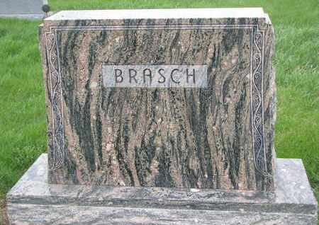 BRASCH, (FAMILY MONUMENT) - Cuming County, Nebraska | (FAMILY MONUMENT) BRASCH - Nebraska Gravestone Photos