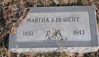 BRAUGHT, MARTHA J. - Cuming County, Nebraska | MARTHA J. BRAUGHT - Nebraska Gravestone Photos