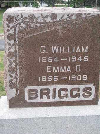 BRIGGS, EMMA C. - Cuming County, Nebraska | EMMA C. BRIGGS - Nebraska Gravestone Photos
