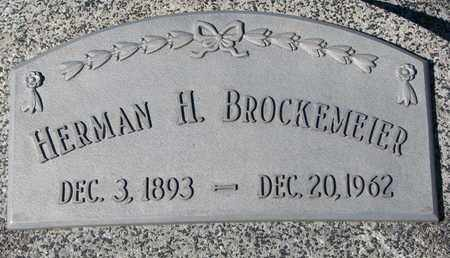 BROCKEMEIER, HERMAN H. - Cuming County, Nebraska | HERMAN H. BROCKEMEIER - Nebraska Gravestone Photos