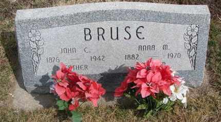 BRUSE, ANNA M. - Cuming County, Nebraska | ANNA M. BRUSE - Nebraska Gravestone Photos