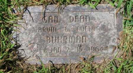BUHRMAN, GAIL DEAN - Cuming County, Nebraska   GAIL DEAN BUHRMAN - Nebraska Gravestone Photos