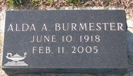 BURMESTER, ALDA A. - Cuming County, Nebraska   ALDA A. BURMESTER - Nebraska Gravestone Photos