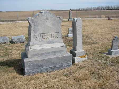 BUSKIRK, FAMILY PLOT - Cuming County, Nebraska | FAMILY PLOT BUSKIRK - Nebraska Gravestone Photos